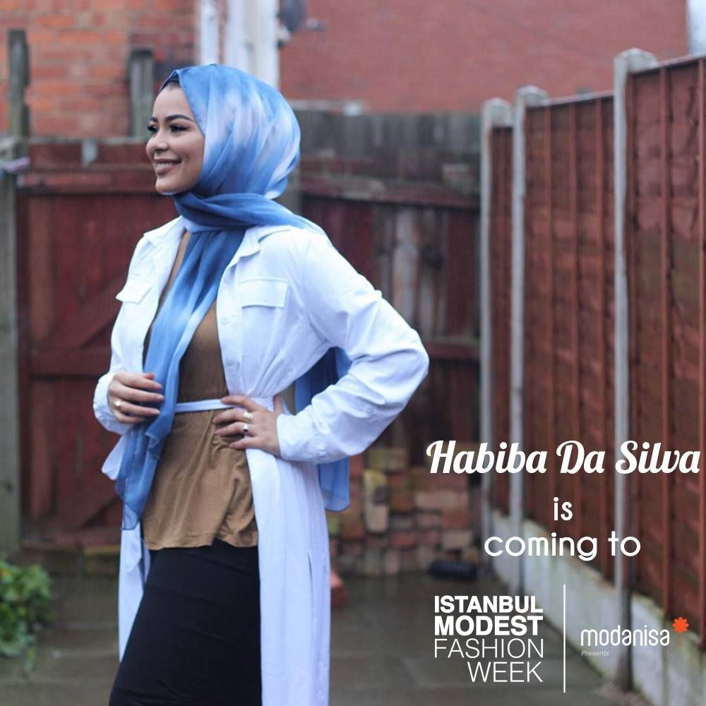Famous fashion blogger - Famous Fashion Blogger Habiba Da Silva Will Be At Istanbul Modest Fashion Week You Can