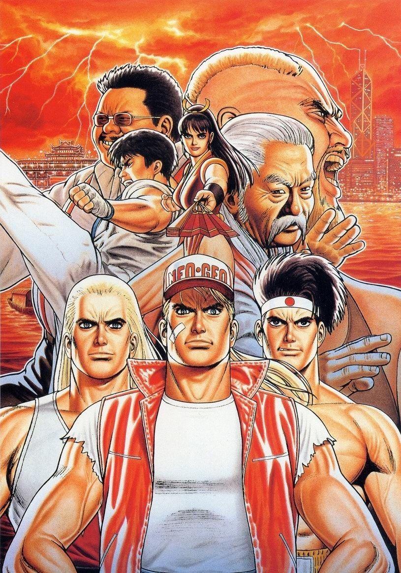Fatal Fury Lutador De Rua King Of Fighters Posters De Filmes