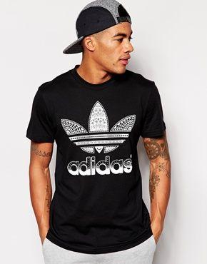 Enlarge Adidas Originals Logo T Shirt | Adidas originals, T