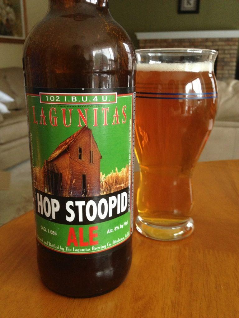 516 Lagunitas Brewing Co Hop Stoopid Ale 1000 Beers Beer Specials California Craft Beer Beautiful Beer