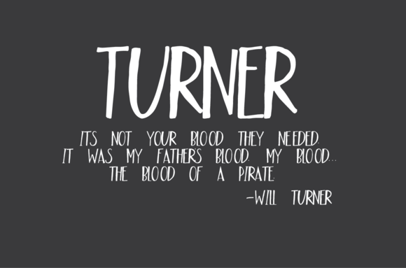 Check out Turner by OnTheSpotStudio on Creative Market
