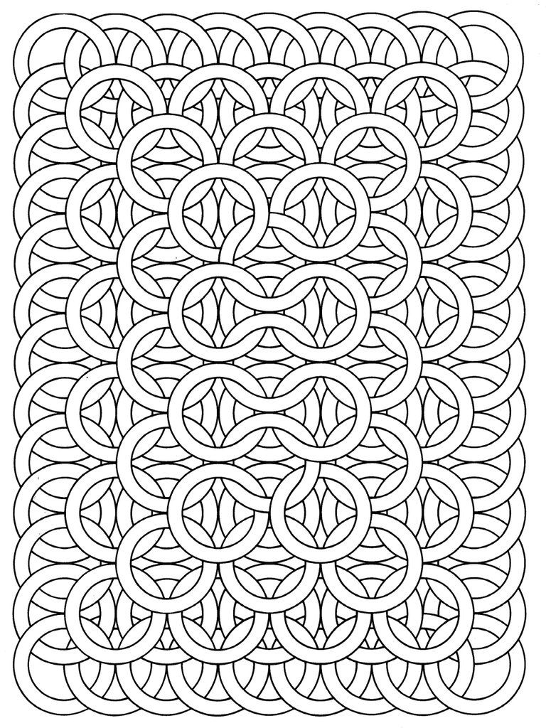 Get The Coloring Page Circle Loops