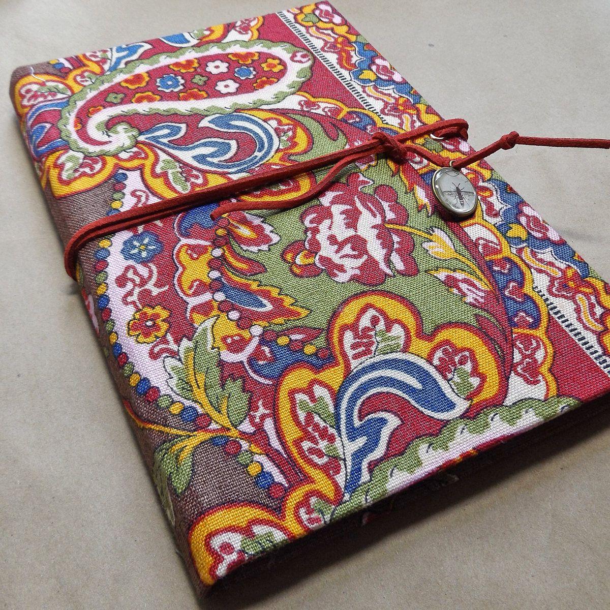 "Handmade Journal, Blank Book, 6 3/4"" X 8 3/4"", 24 Lb Lined"