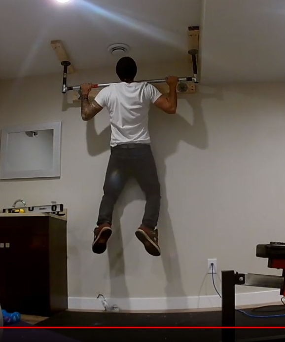Make A Homemade Pull Up Bar For Your Needs And To Fit Your House