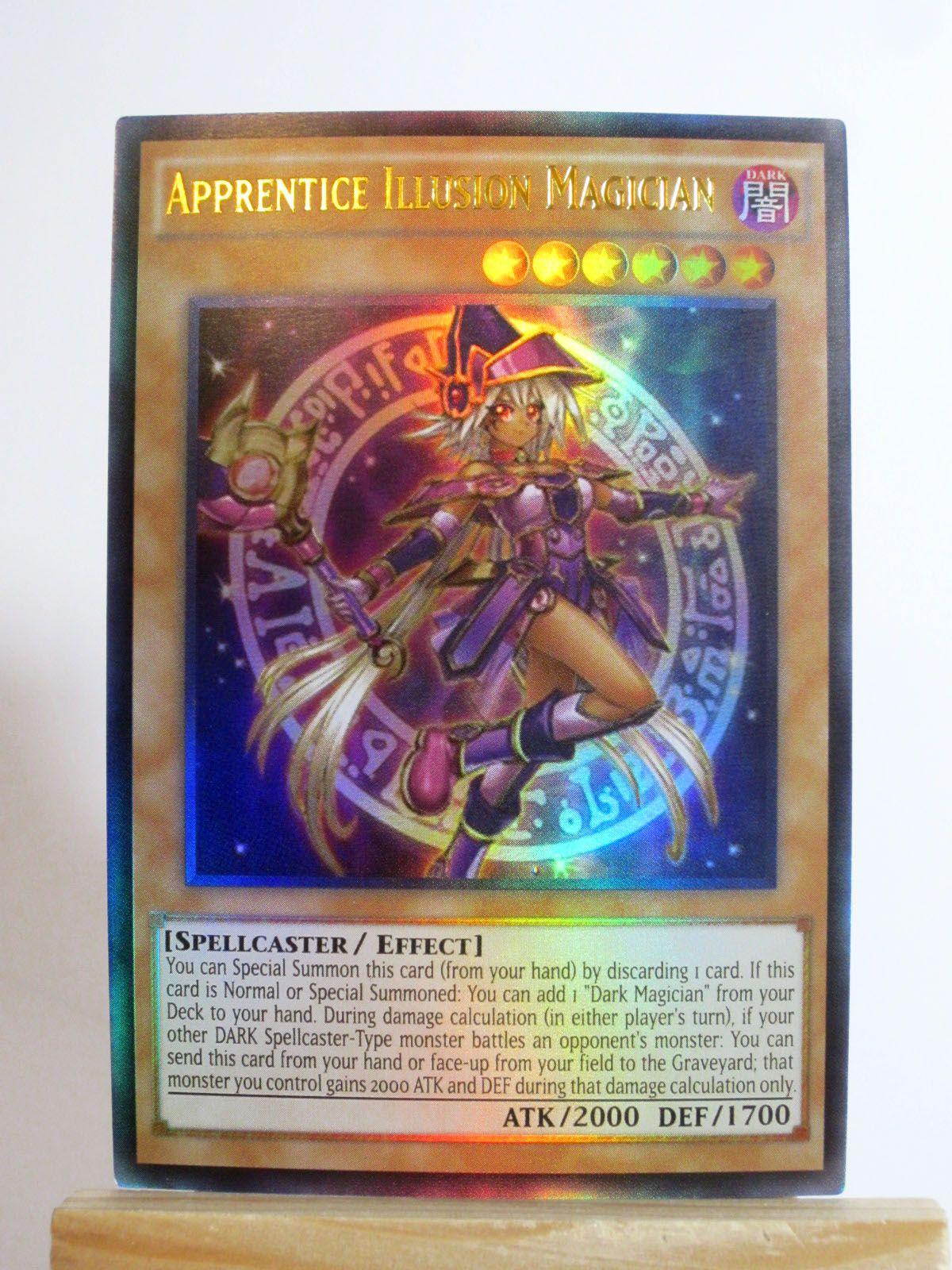 Apprentice illusion magician art 1 dark magician cards