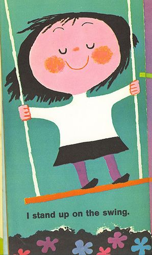 page from The Up and Down Book by Mary Blair, 1964. (thanks, Ward!) via henrietta hanks