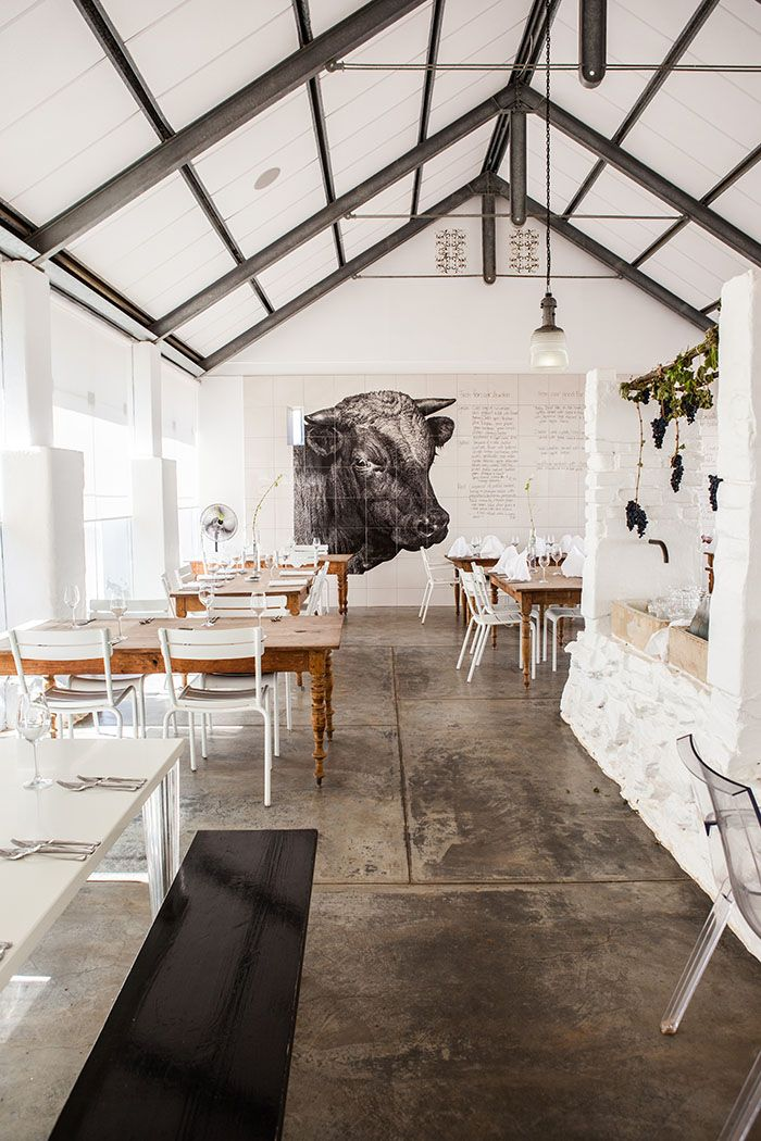 A Shoot At Babylonstoren For Delicious Magazine With Martin Boetz Concrete Floors Concrete Stained Floors Flooring