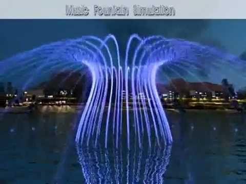 Spectacular Show Of Music Water And Light At The Tree Of Life Fountain At Expo 2015 Milan Youtube Fountain Lights Fountain Water Fountain