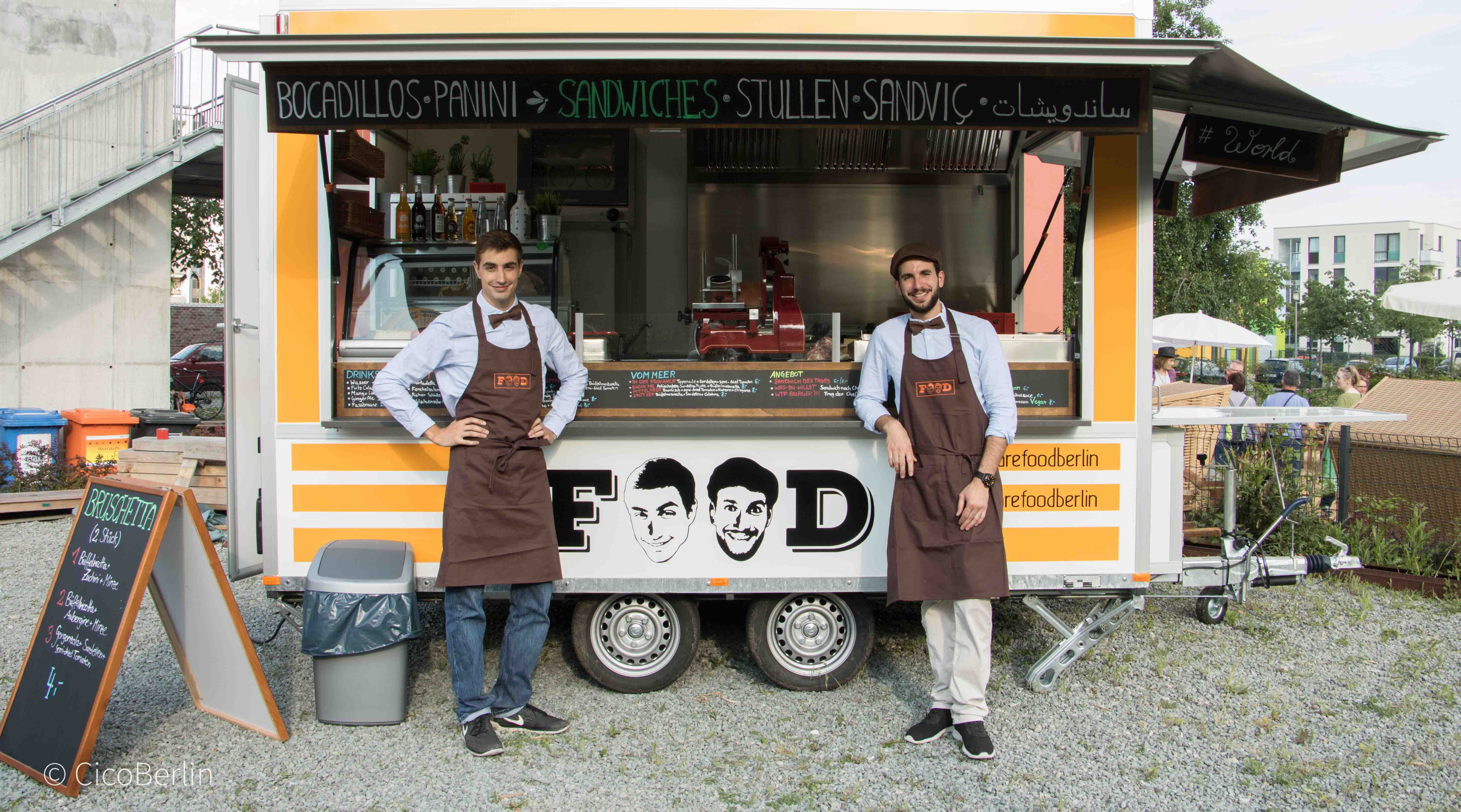 Streetfood Berlin - The guys of FOOD Berlin, Photo and Text by CicoBerlin