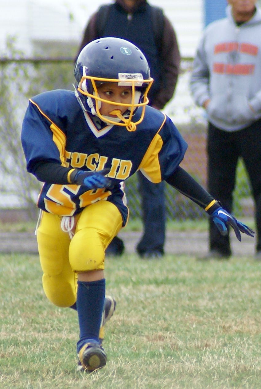 Euclid Panthers Youth Football Football helmets, Youth