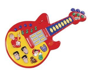 The Wiggles Sing And Dance Guitar By Spin Master 1399 The
