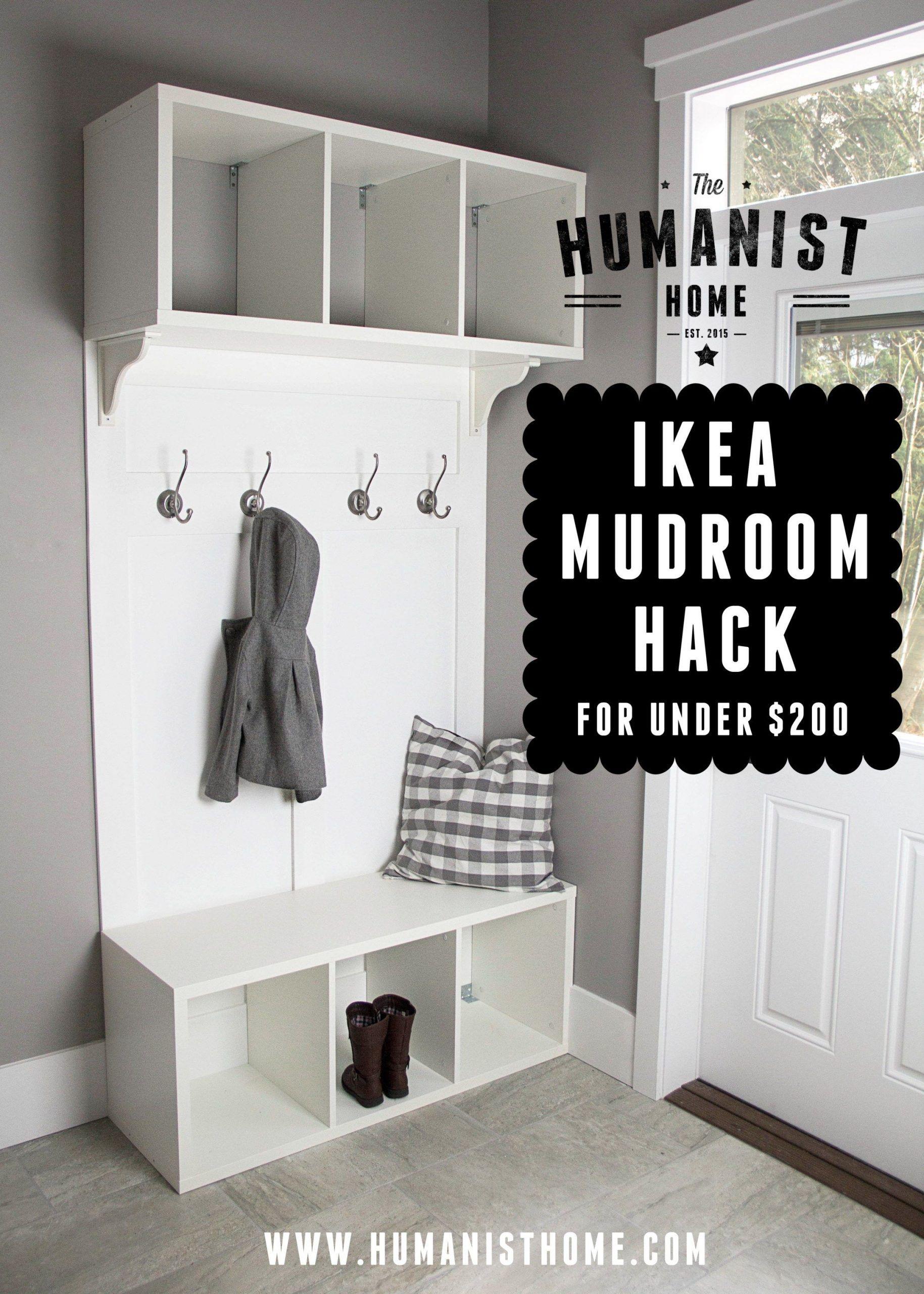 diy make your own ikea hack mudroom bench storage on inspiring diy garage storage design ideas on a budget to maximize your garage id=74349