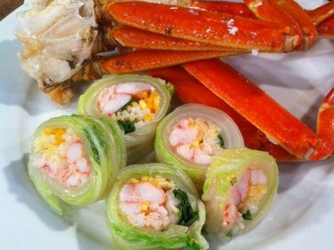 Snow Crab Cabbage Rolls | Cabbage rolls, Cabbage, Cooking ...