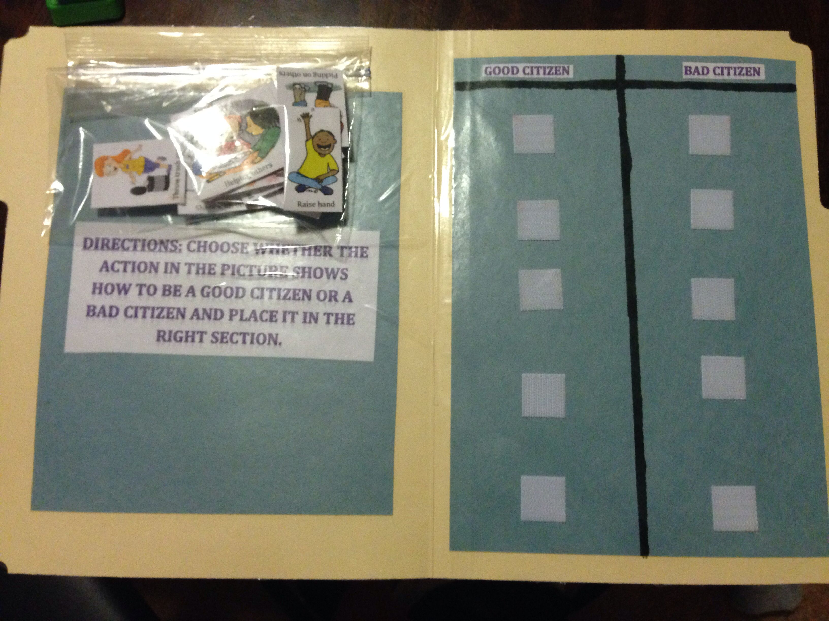 Great Folder Game For Students Teaches Student To