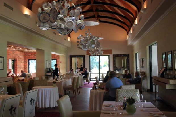 The Pierneef A La Motte Restaurant At The La Motte Wine Farm Is A Great Choice For Both Lunch And Din Franschhoek South Africa Travel Provinces Of South Africa