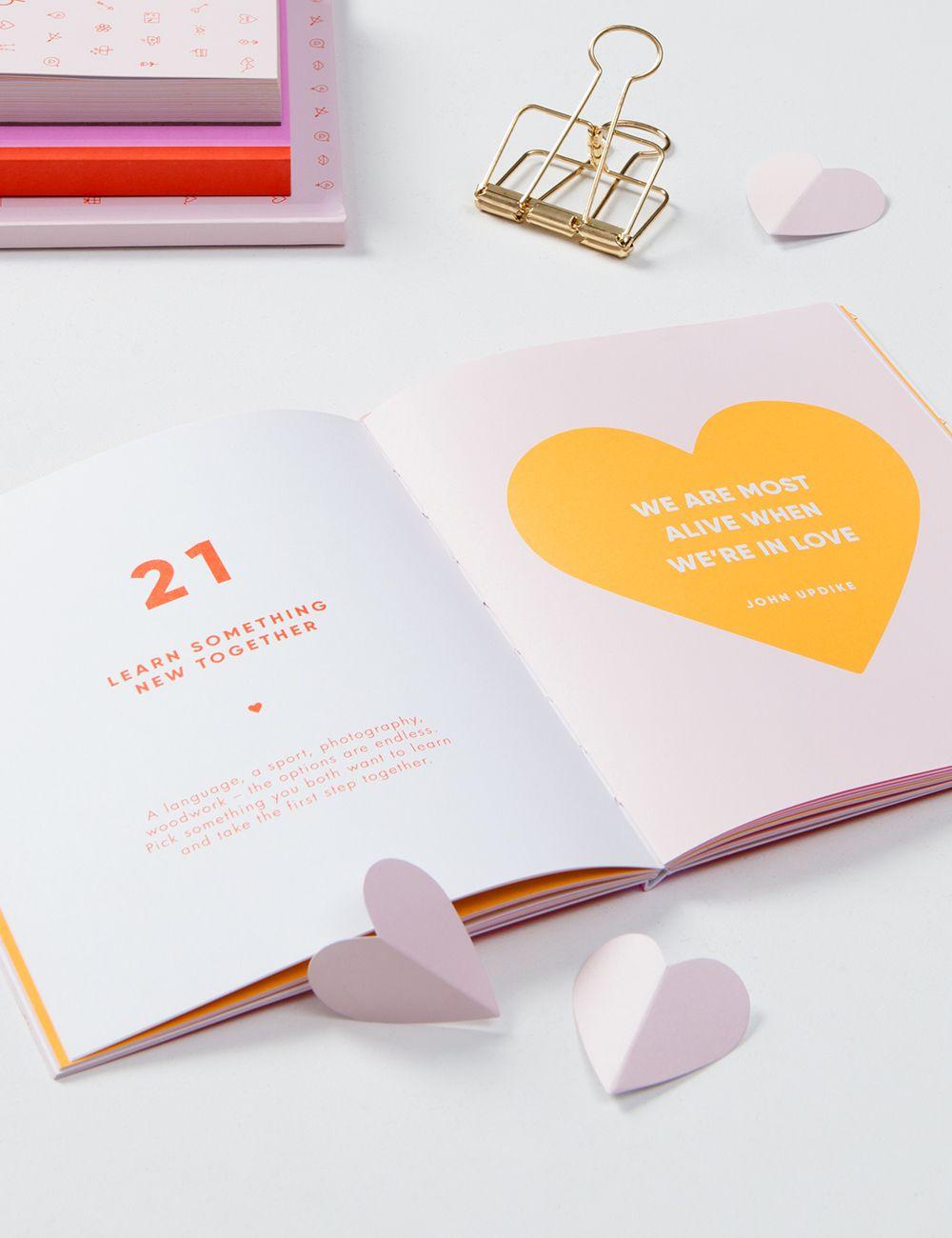 52 Dates Book More Love Valentines