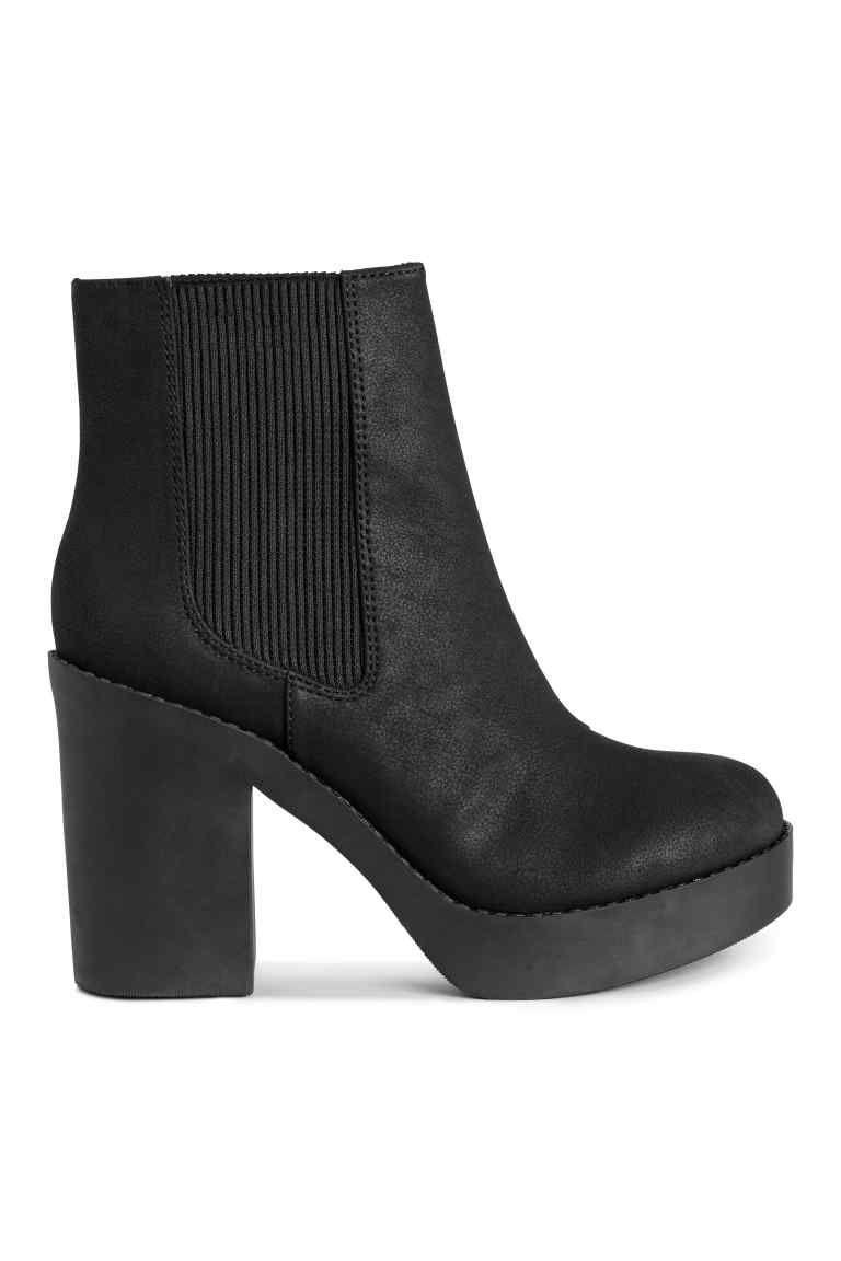 Chunky heels boots, Platform boots