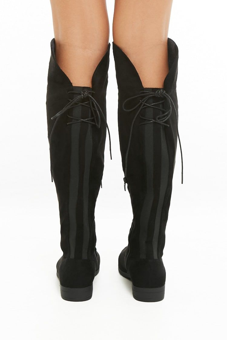 63afcec168 L4L by Lust for Life Elasticized Lace-Up Boots