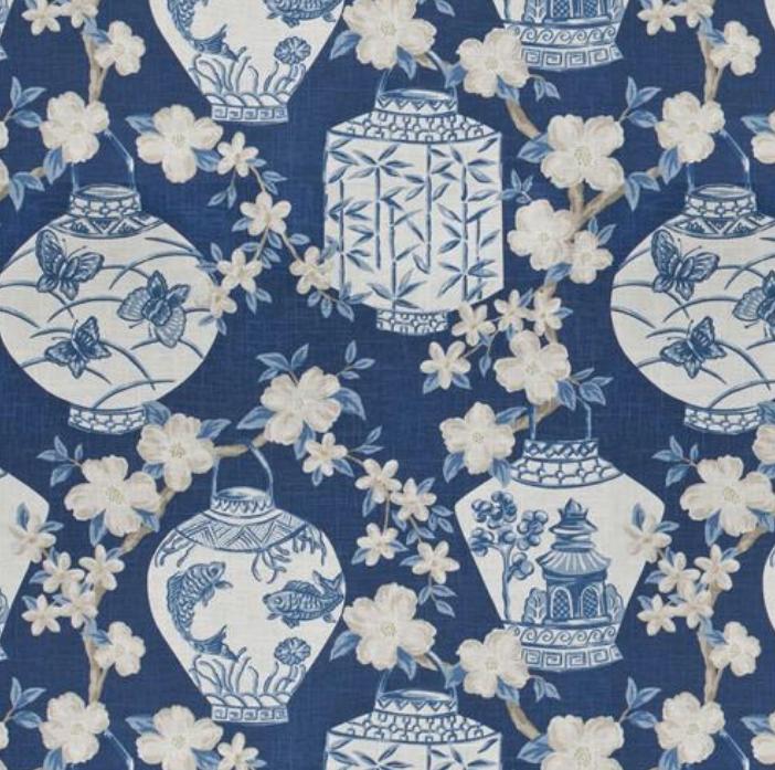 Pesaro Jaclyn Smith Navy Blue, white wallpaper