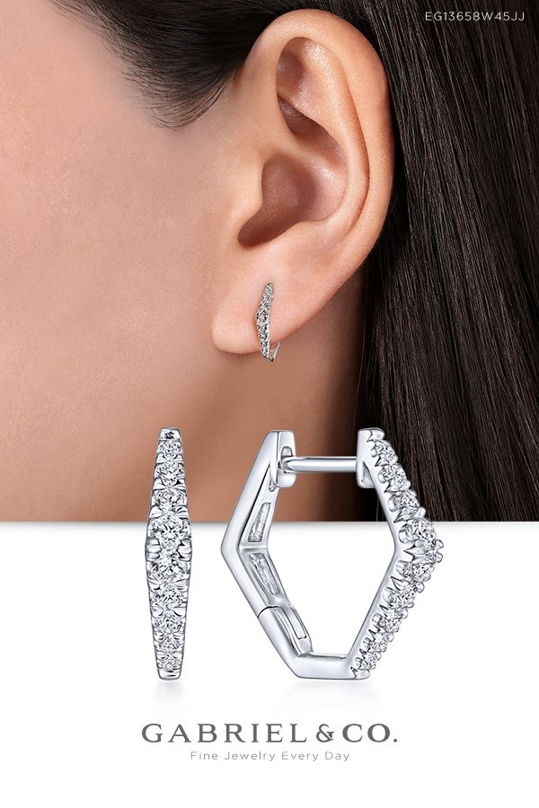 1e787daa0 Complete your look with fashionable fine jewelry from Gabriel & Co.  Accessorize your wardrobe