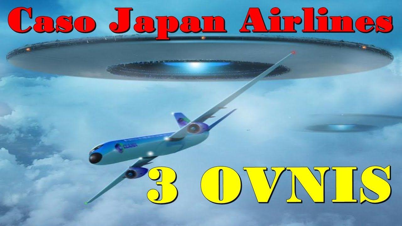 Caso Japan Airlines Aviao Japonês cercado por 3 Ovnis