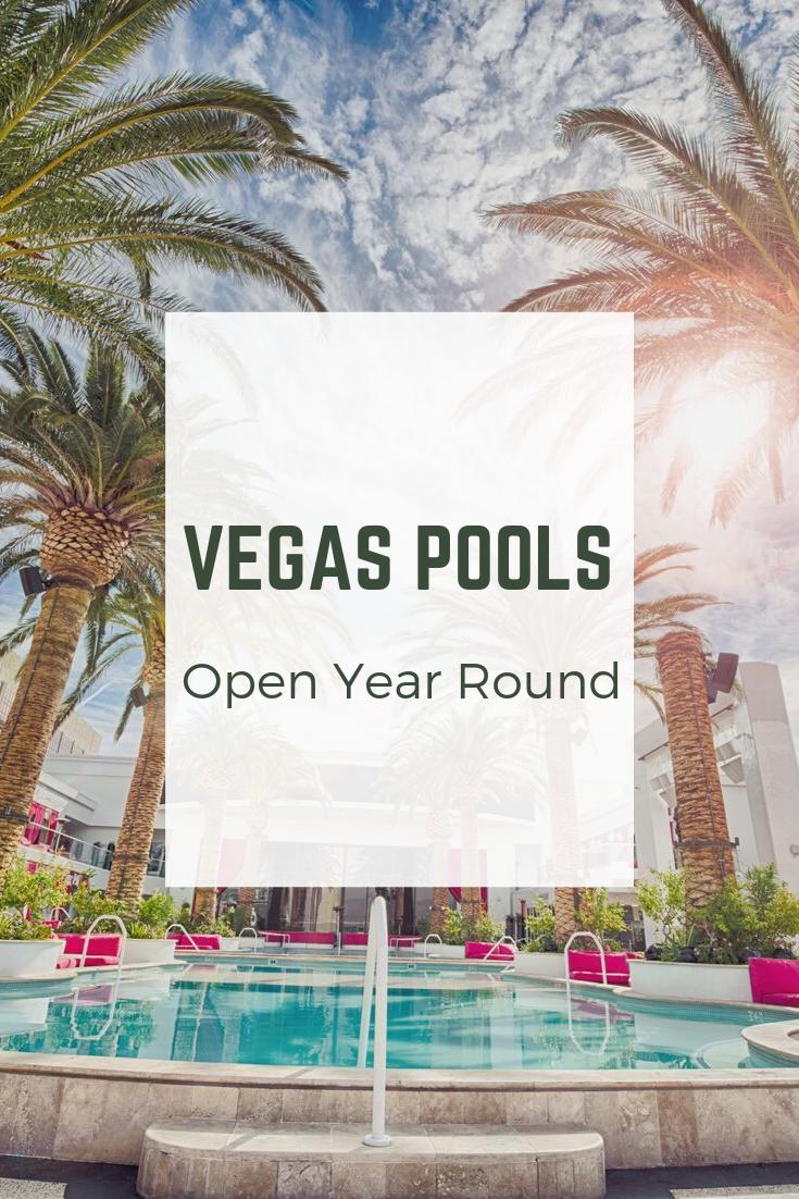 Las Vegas Pools Open Year Round Las Vegas Then and Now