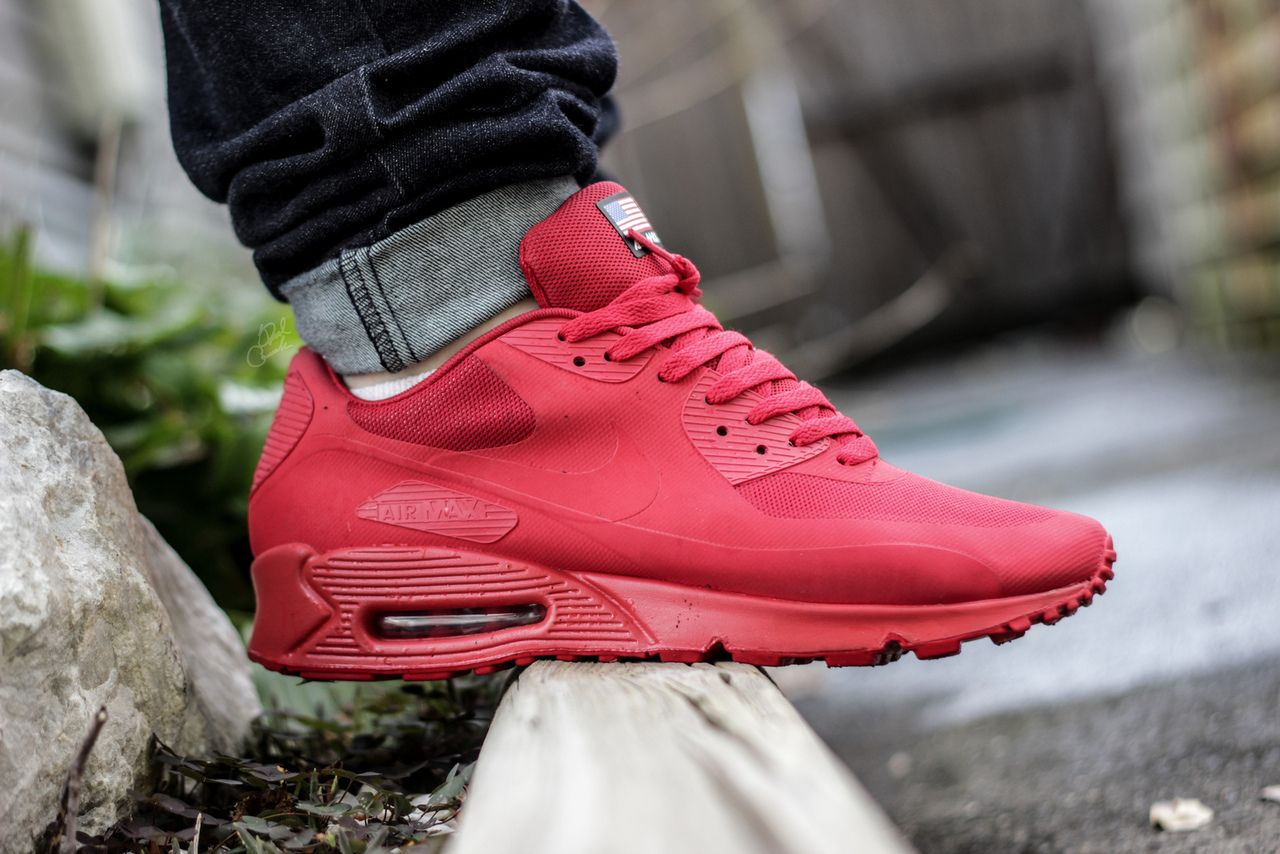 nike air max 90 hyperfuse independence day red