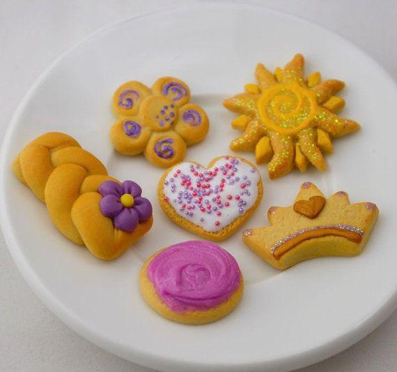 Tangled cookies
