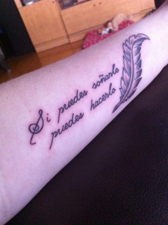 tattoo spanish quote | Tattoos | Spanish quotes tattoos, Tattoo