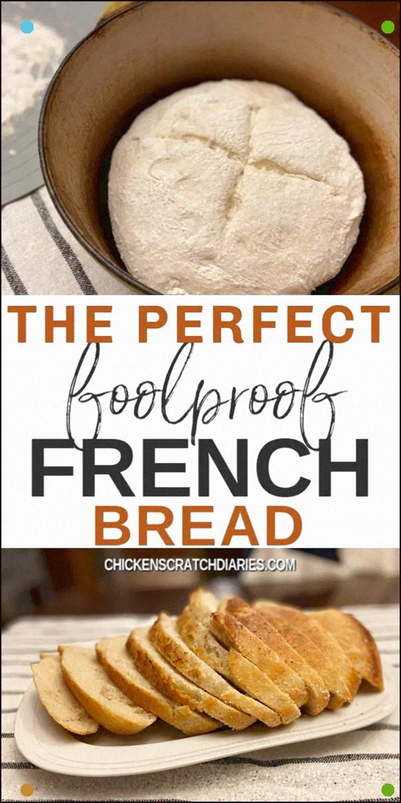 The Easiest, Tastiest Rustic French Bread Recipe Ever. Regardless of whether You've Never Made Homemade Bread Before, You Can Do This #Crustybread #Rusticbread #Frenchbread #Dutchoven #Dinner