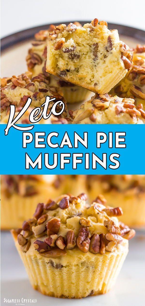 Keto Pecan Pie Muffins Grain Free Low Carb Sugar Free Keto Pecan Pie Muffins Grain Free Low Carb Sugar Free