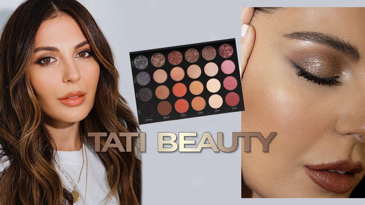First Impressions Tati Beauty Bronze Glitter Makeup
