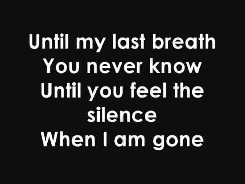 Tarja Turunen Until My Last Breath With Lyrics Tarja Turunen Lyrics How Are You Feeling