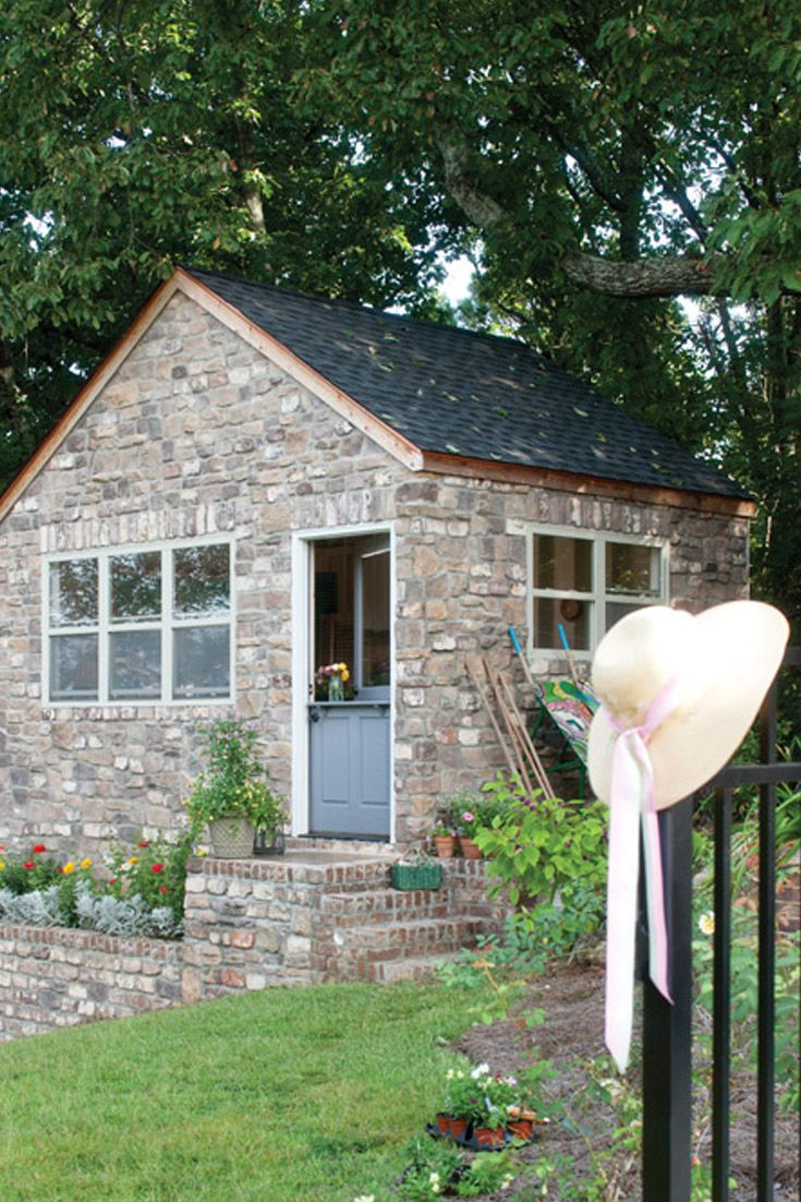 A Potting Shed Dream From Victoria Magazine Shed Garden Room Garden