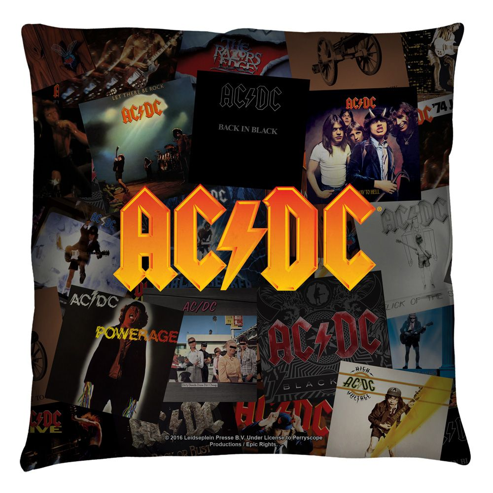 """ACDC ALBUMS Licensed Band Beach Towel 30/"""" x 60/"""""""