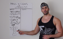 what are the pros and cons of taking steroids