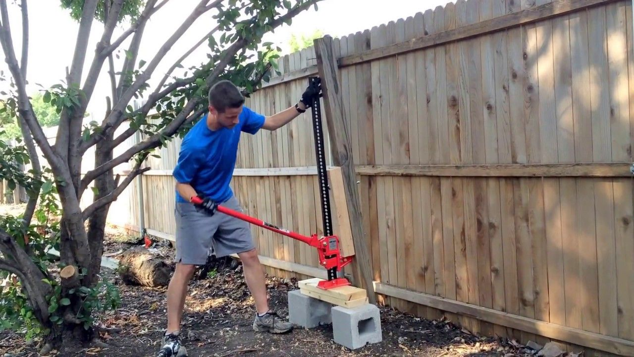 The Easy Way To Remove Wooden Fence Posts Set In Concrete No