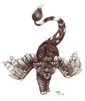 fantasy kitty by Liedeke
