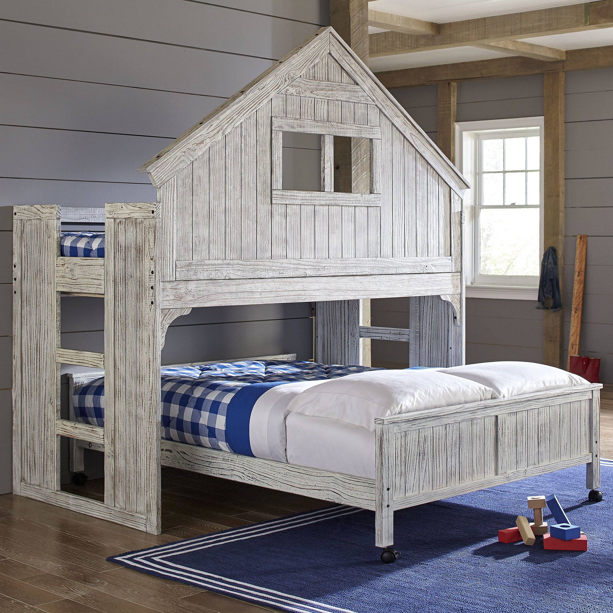 Birch Lane Kids Lake House Twin Over Full Bunk Bed New House In