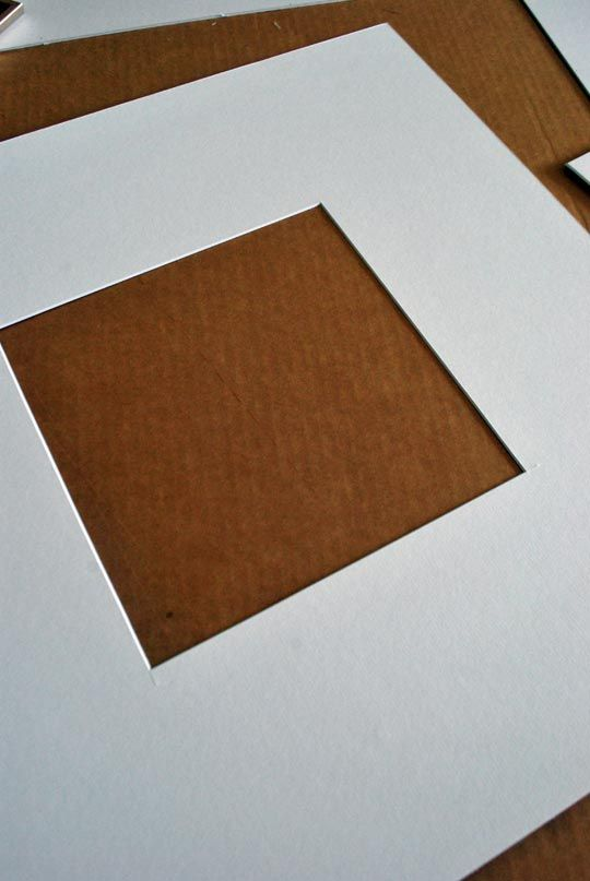 How To: Cut a Mat for Framing Artwork | Framed artwork, Apartment ...