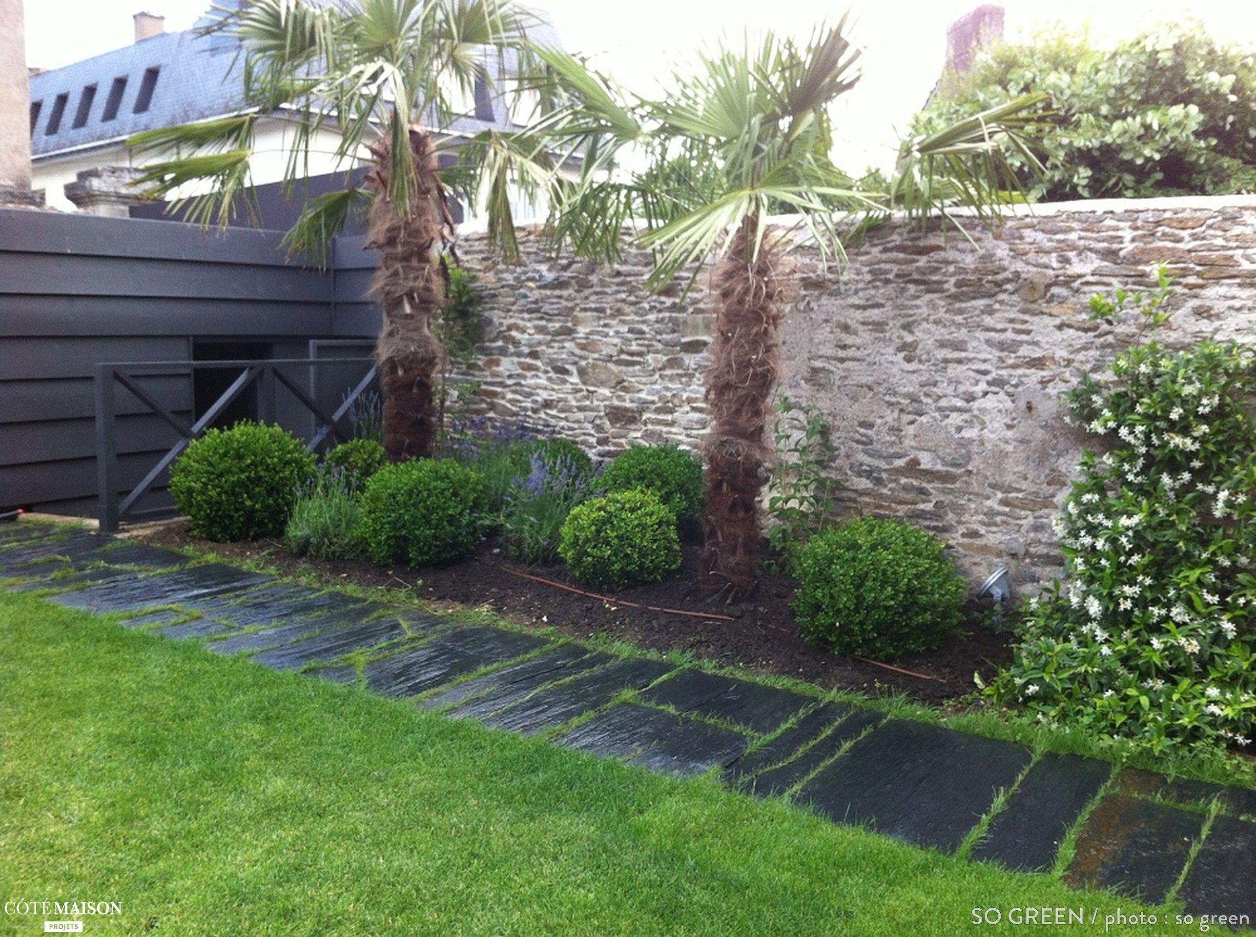Conception D Un Jardin Exotique Chic Nantes So Green  # Abri De Jardin Ideal Guillemin