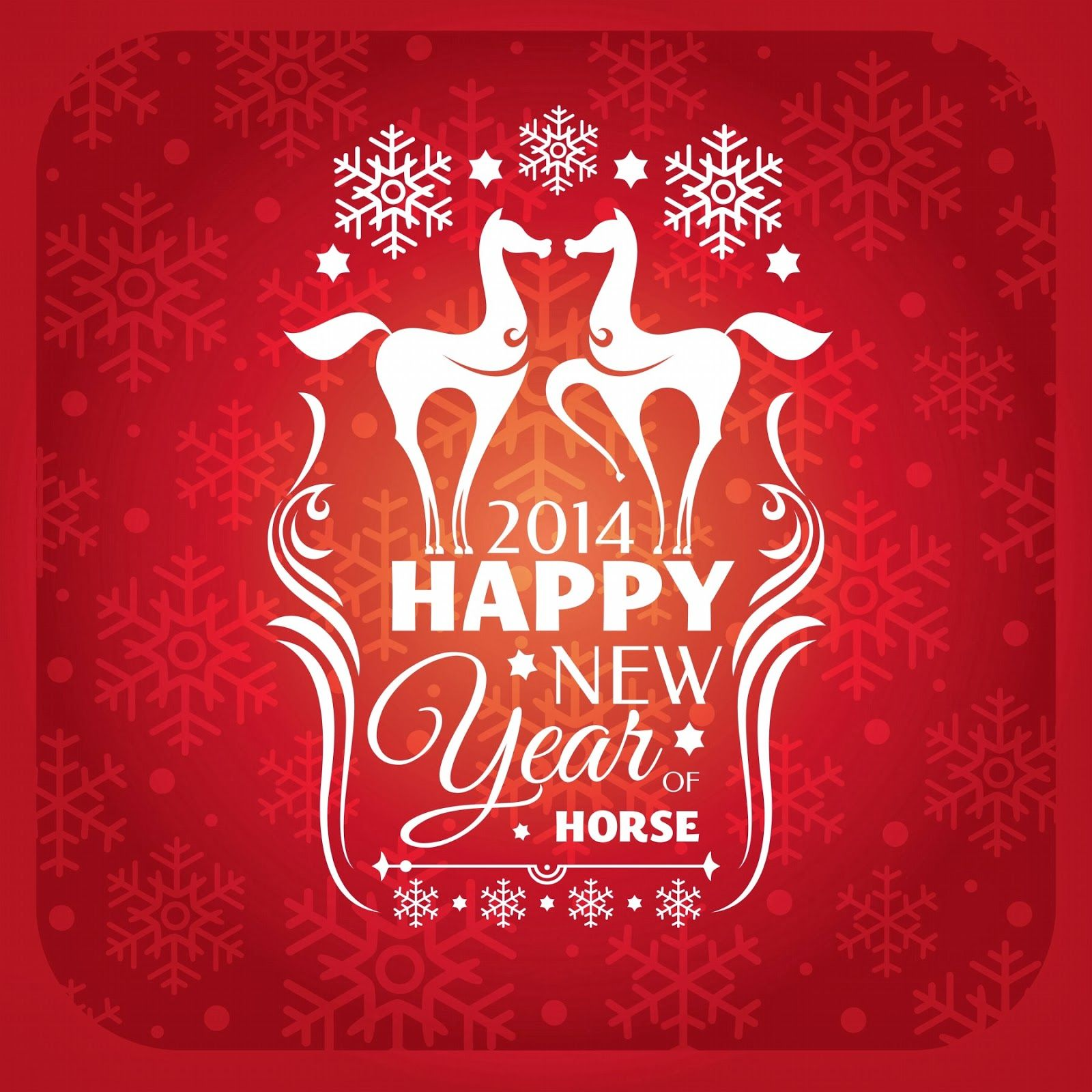 Happy New Year Of The Horse Horse Rider Sayings Pinterest