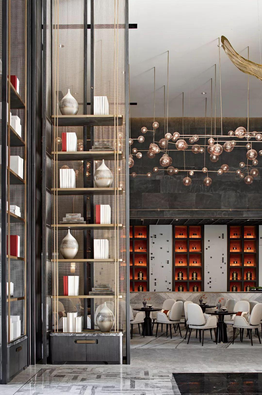 黃全新作首發 靜謐雅緻的設計語境 東方寫意的完美演繹 環球設計1724期 環球設計 微文庫 hotel interior design lobby design hotel lobby design