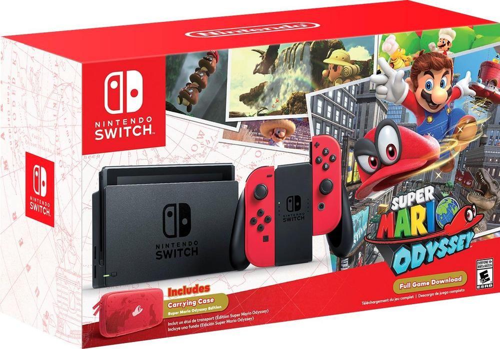 Popular on Best Buy : Nintendo - Switch 32GB Super Mario Odyssey