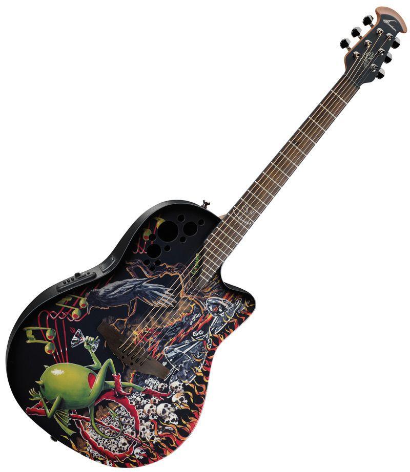Ovation   Misc   Guitar, Guitar art, Acoustic Guitar