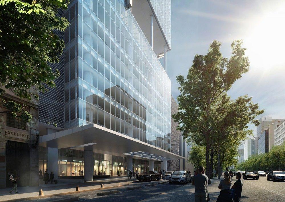 Gallery of richard meier unveils 180 meter tower development in gallery of richard meier unveils 180 meter tower development in mexico 8 sciox Images