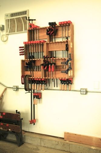 Clamp till / storage rack, I'm looking for ideas. - by Emma Walker @ LumberJocks.com ~ woodworking community