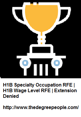 Pin by thedegree people on H1B Specialty Occupation RFE