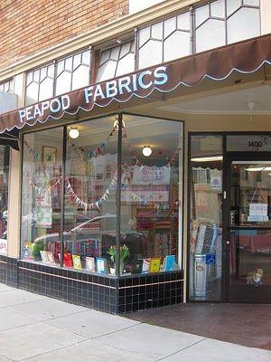 Peapod Fabrics 1400 Irving St. @ 15 Ave. San Francisco | Quilt ... : san francisco quilt shops - Adamdwight.com