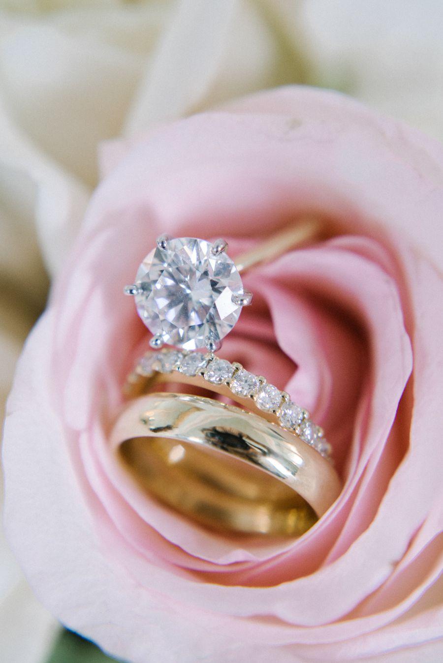 Wedding rings flowers  Elegant Lowndes Grove Plantation Wedding | Band photography ...
